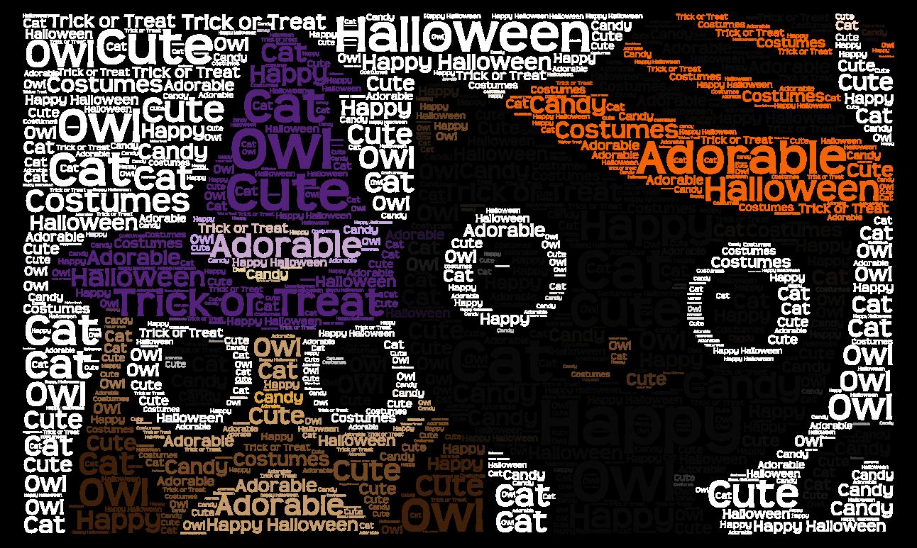 Happy Halloween! ;) , WordArt.com