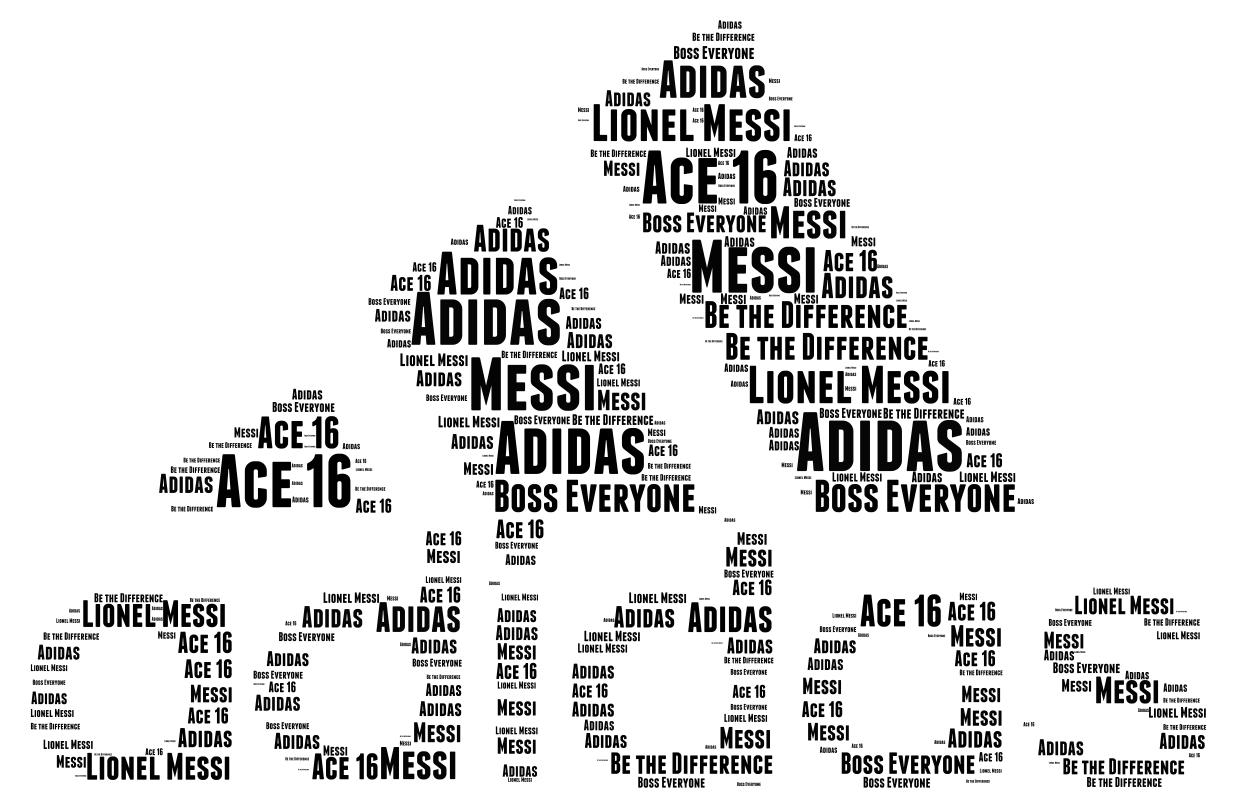 Inyección siglo Mentalidad  Adidas Word cloud - WordArt.com