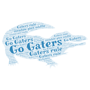 Gaters rule word cloud art
