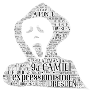 expressionismo  word cloud art