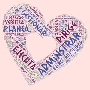 Lluvia de Ideas word cloud art