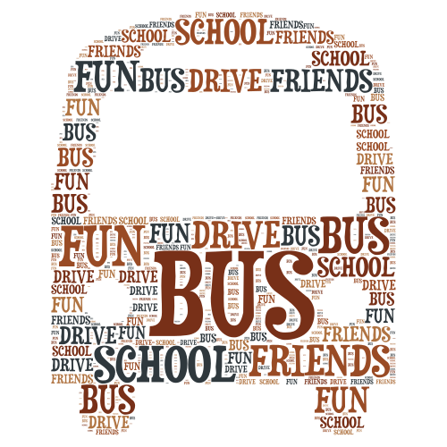 Wordart word cloud art creator bus word cloud art maxwellsz