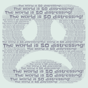 The world word cloud art