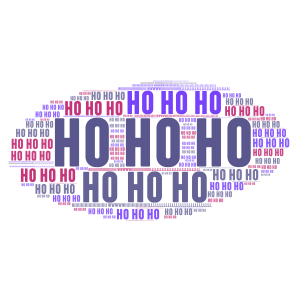 joe says ho ho ho snow nooooooooo!!!!!!!! word cloud art