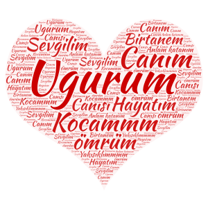 ugur word cloud art
