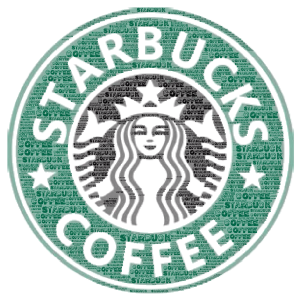 STARBUCK word cloud art