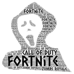 dont mess with games word cloud art