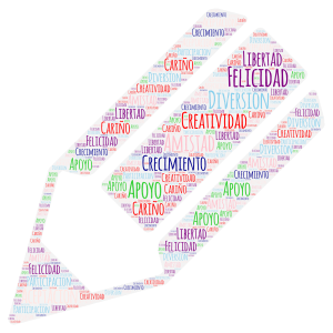 Untitled word cloud art