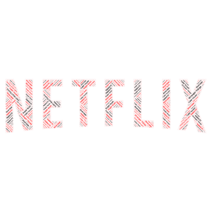 Netflix and Chill word cloud art
