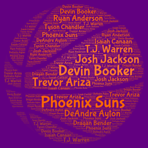 GO Suns!!!! word cloud art