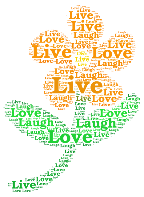 laughter word art - photo #35