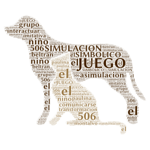 preescolar word cloud art